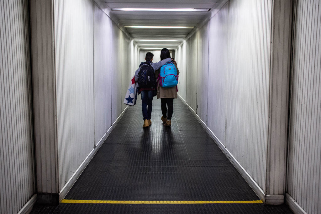 Despite the aerial uncertainty caused by coronavirus at an international level and the closing of borders in many countries around the world, Diana and Andrés managed leaving Colombia on the night of March 17, 2020.